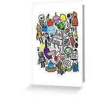 All My Friends Have Color Greeting Card
