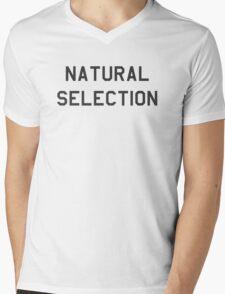 Natural Selection Mens V-Neck T-Shirt