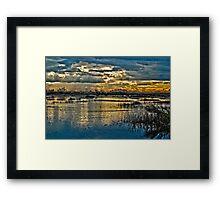 Wetlands in High Definition Resolution   Framed Print
