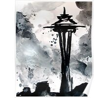 Space Needle (study 1) Poster