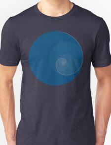 Golden Ratio Circles + Spiral Unisex T-Shirt