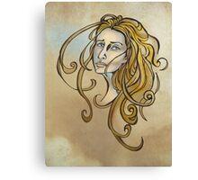 Melancholy Me Canvas Print