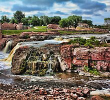Falls Park by Jim  Egner