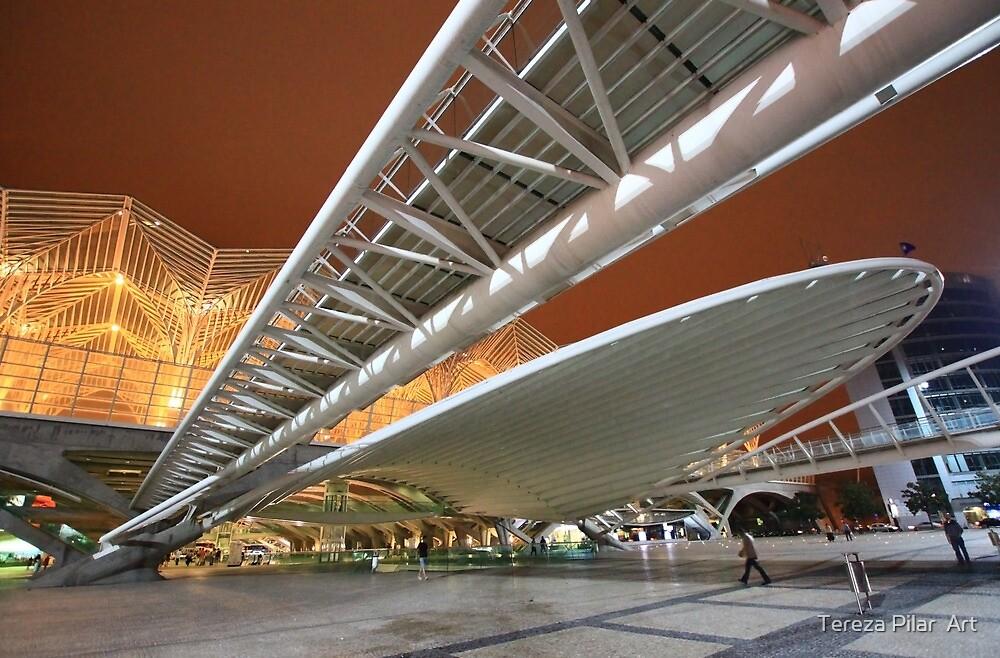 Gare do Oriente. Lisbon. by terezadelpilar~ art & architecture