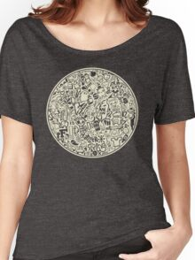 Circle of Doodles  Women's Relaxed Fit T-Shirt