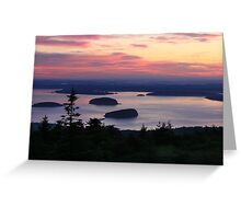 Daybreak at Cadillac Mountain Greeting Card