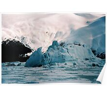 EXTREME ICEBERG AT PORTAGE Poster