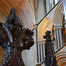 Worcester Cathedral - Moses by Dave Godden