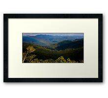 Mt Mee Landscape - Queensland Framed Print