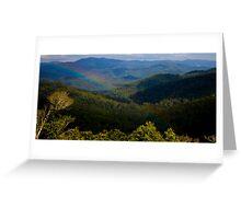 Mt Mee Landscape - Queensland Greeting Card