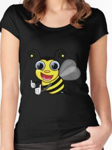 bees knees t-shirt Women's Fitted Scoop T-Shirt