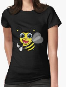 bees knees t-shirt Womens Fitted T-Shirt