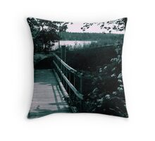 A Boardwalk for One Throw Pillow