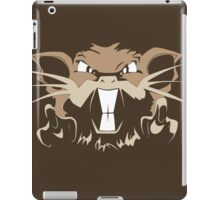 Raticate Pokemon Game and Anime iPad Case/Skin
