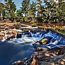 Rainbow Falls Rapids (New Zealand) by peterperfect