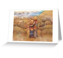 rainbow point Greeting Card
