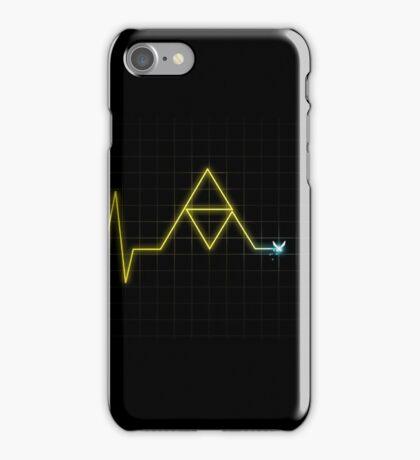 Hey, Listen! - Triforce Heartbeat iPhone Case/Skin