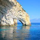 Limestone Sea Arch by Honor Kyne