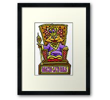 RESCUE CATS RULE! Framed Print