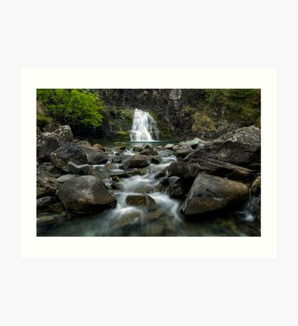 Cuillin Flow, Scotland Art Print