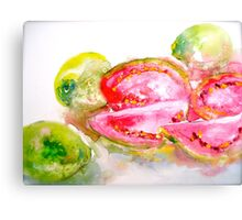 Guavas at the George St Market Canvas Print