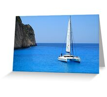 Catamaran - Shipwreck Cove Greeting Card