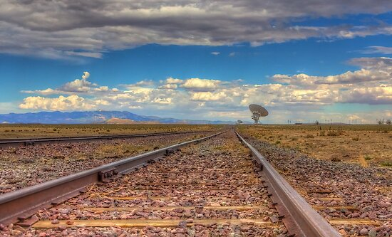 Rail to the Stars by njordphoto