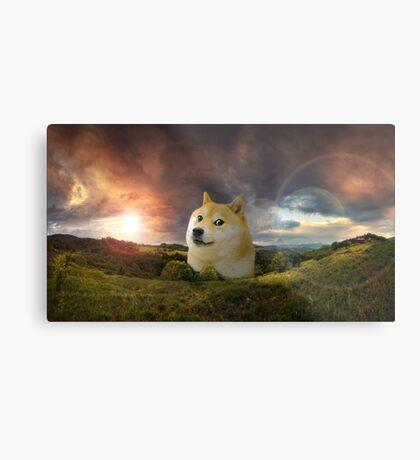 Inspirational Doge Metal Print
