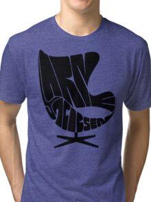 Black Egg Tri-blend T-Shirt