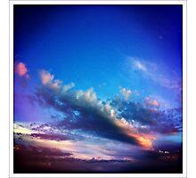 saturday sky Photographic Print