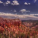 Blue Skies and Painted Hoodoo's by James Hoffman