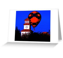 South Coast and Balloon, Serigraph Greeting Card
