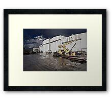 Factory Ground Framed Print