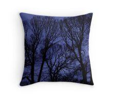 Fitzroy Trees Throw Pillow