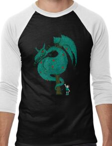 Nature's Beast Men's Baseball ¾ T-Shirt