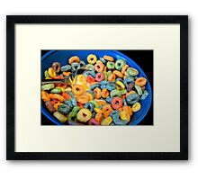 Cereal Time  Framed Print