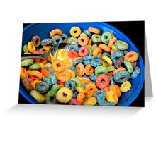 Cereal Time  Greeting Card