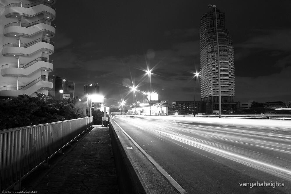 Departure or Arrival? - Night in Bangkok  by vanyahaheights