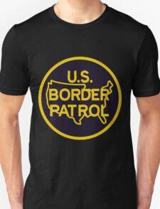 US Border Patrol Seal Sticker T-Shirt