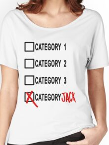 Category JACK Women's Relaxed Fit T-Shirt