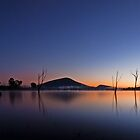 Tranquility Morning - Moogerah Dam by Beth  Wode