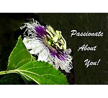 Passionate About You Photographic Print