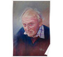 Portrait of Hubert Miller Poster