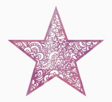 Pink Star Kids Tee