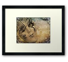 Music of the night Framed Print
