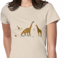 Not Really Extinct Womens Fitted T-Shirt