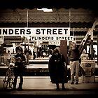 Flinders St Platform 3 by Andrew Wilson