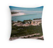 Willie Creek Pearl Farm Throw Pillow