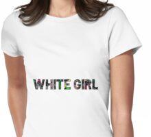 white chick Womens Fitted T-Shirt