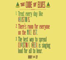 Buddy the Elf! The Code of Elves Kids Tee